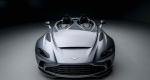 Limited-edition V12 Speedster unveiled at Aston Martin's Gaydon headquarters