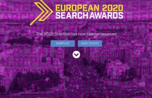 moccamedia in the finals at European Search Awards