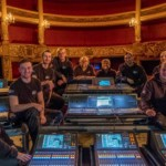 The Cultuue Centruum Brugge team with the Yamaha consoles
