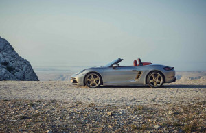 New limited-edition anniversary model: Boxster 25 Years