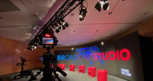 New Broadcast Studio at Messe Wien